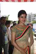 Samantha Latest Glam pics in saree-thumbnail-18