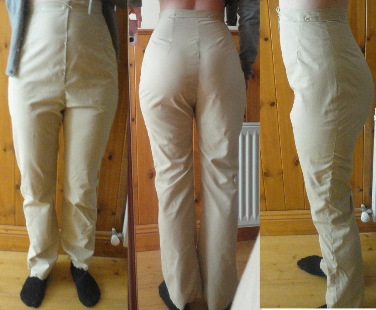 Как сделать стрелки на брюках если их нет