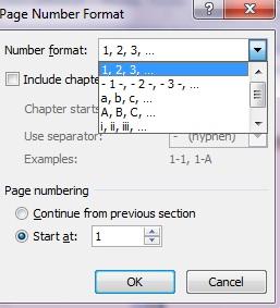 cara membuat nomor halaman di microsoft word 5