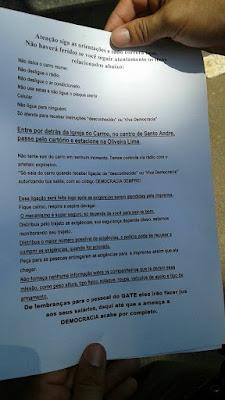 Exclusivo - Em Santo André, marginais deixam empresário com suposta bomba em seu carro, com regras a serem seguidas para não haver explosão