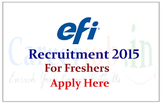 Electronics for Imaging Inc Hiring for freshers for post of Associate QA Engineer