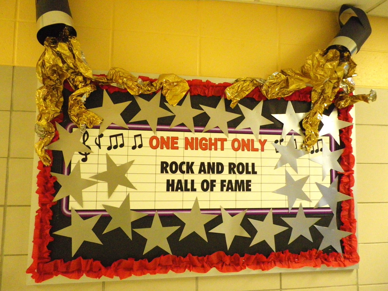 Fabulous in Fifth!: Rock Star(Hollywood) Bulletin Board