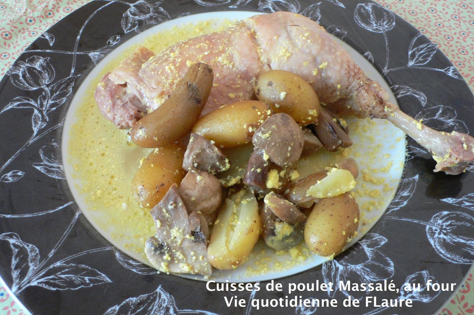 Cuisses de poulet massal au four - Cuisse de poulet a la moutarde au four ...