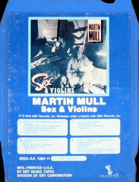 Good Martin mull sex and violins