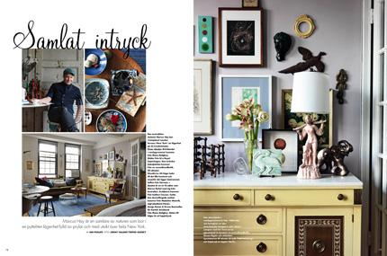 Marcus Hay Fluff N Stuff Swedish Elle Interior Magazine