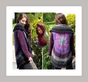 O verdadeiro método para confeccionar o casaco Catavento em tricot