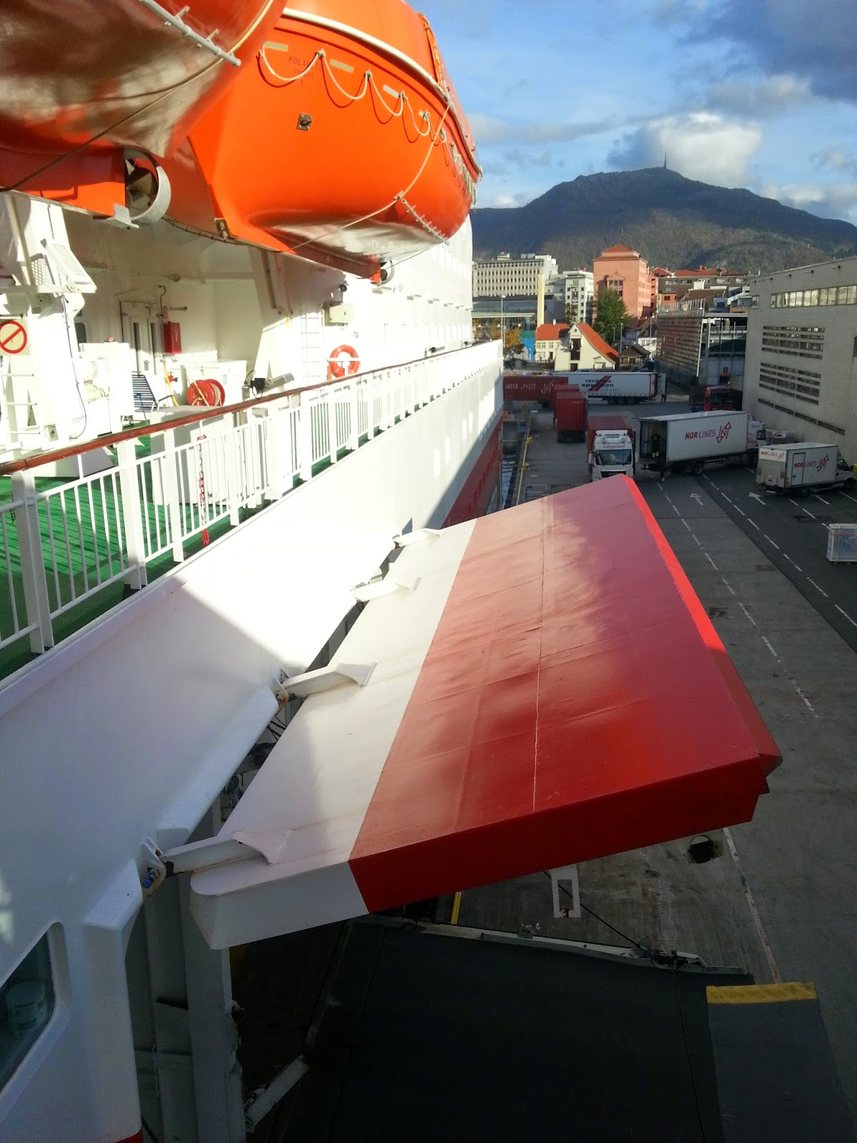 Hurtigruten MS Polarlys - Loading Door