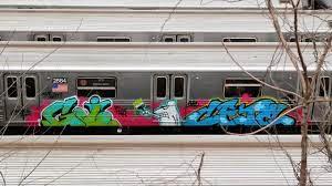 railway-grafiti-vandalism