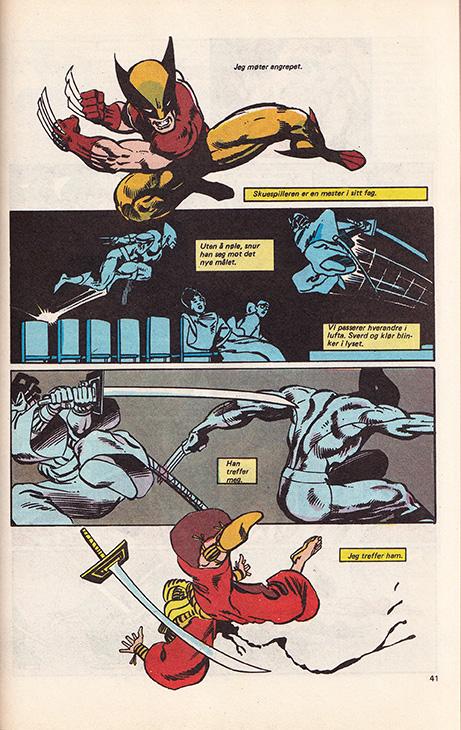 Marvel Spesial nr. 1 - 1987: Jerven, s. 41