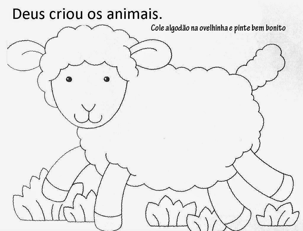 Ateliê Cantinho Da Educação Infantil Atividades Animais Maternal