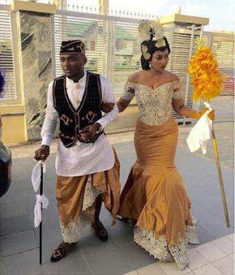Lilian and Ubi Franklin wedding