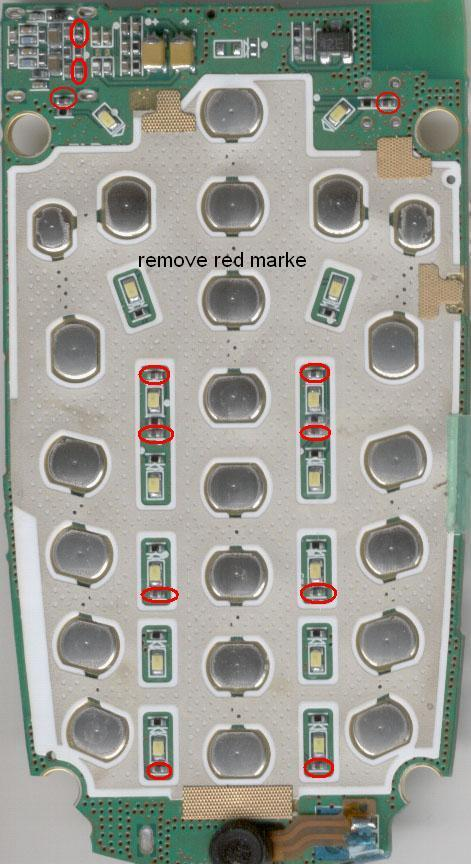 v3i mic solution. samsung e720 keypad solution