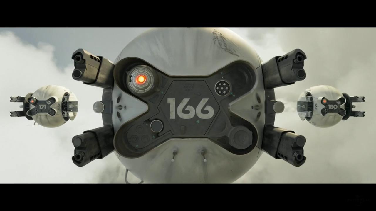 Drones buscando en Oblivion