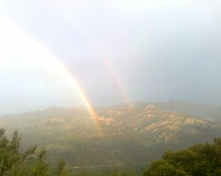 arc en ciel à Aullène en Alta Rocca