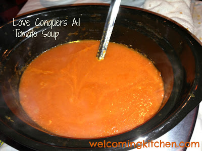 tomato soup with coconut milk