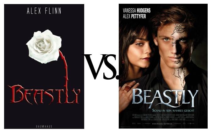 Wortwelten Book Vs Movie Quot Beastly Quot Von Alex Flinn border=