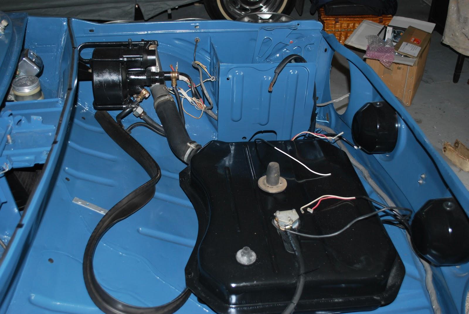 Paul\'s R1135 Gordini Restoration: Wiring Loom.