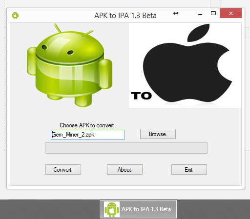 apk to ipa games and apps converter (to iphone converter v1.0)