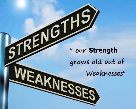 my strength and weakness