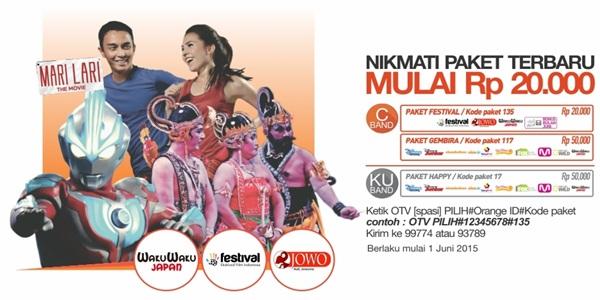 Paket Happy, Gembira, Festival Terbaru Orange TV