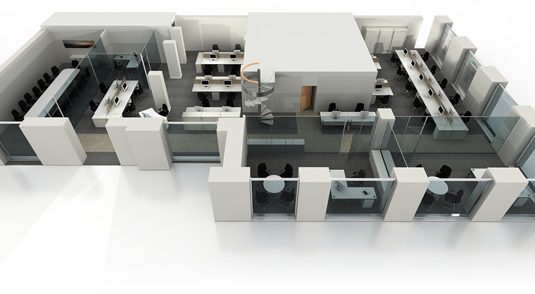 Foundation dezin decor 3d office layouts for 3d office planner