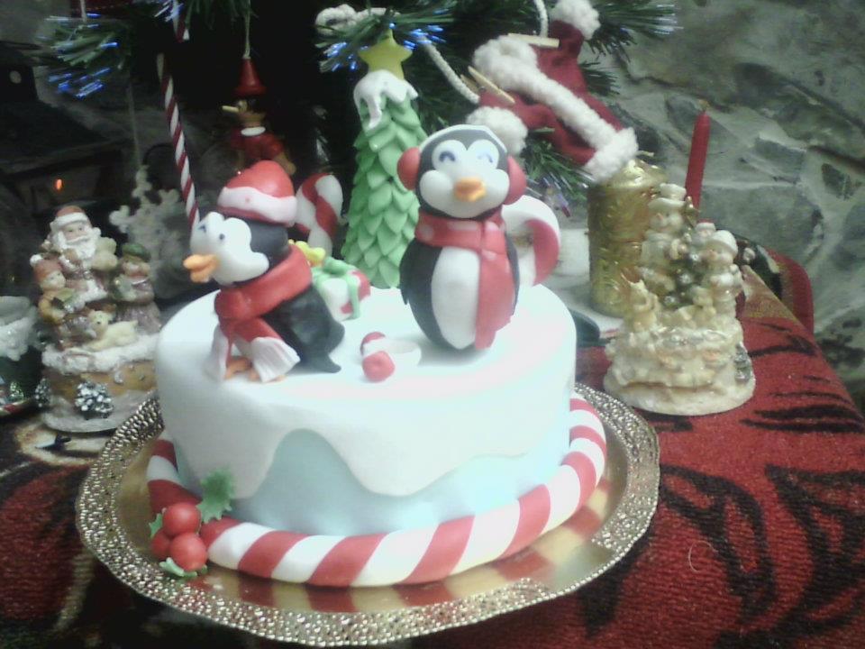 Profumo Di Zucchero A Velo Torta Pinguino