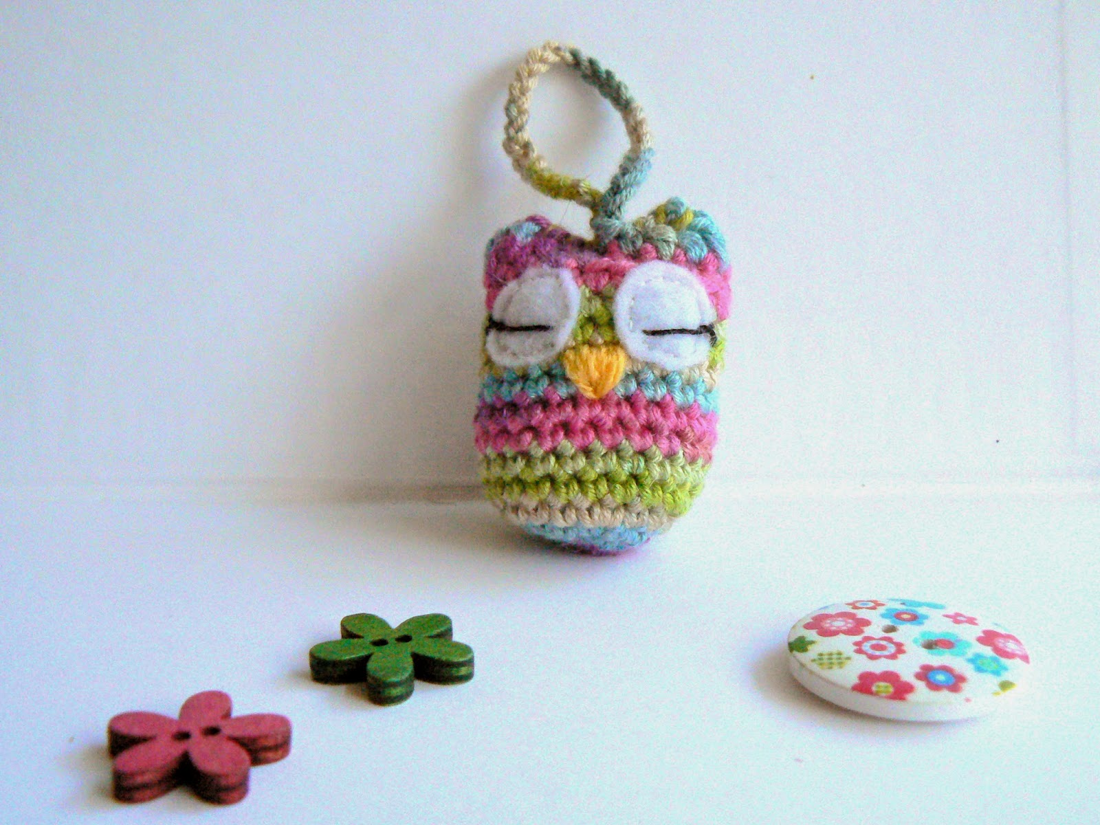 Cute Little Amigurumi Owl : Little crochet a little owl free pattern