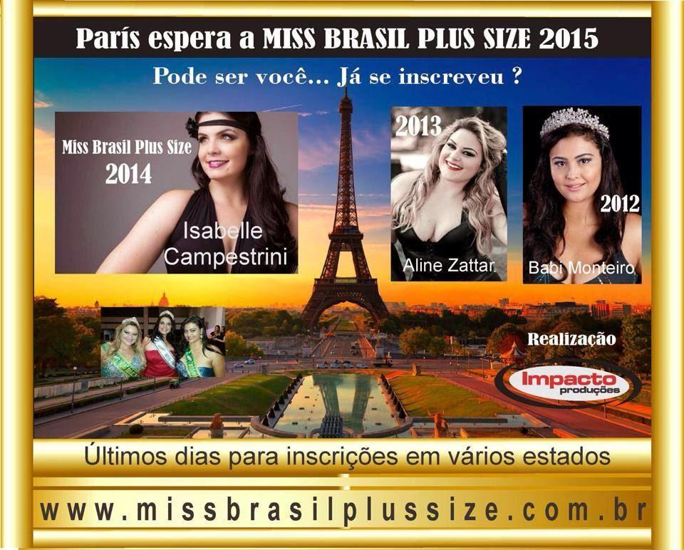 Quer ser a Miss Plus Size RG 2015?