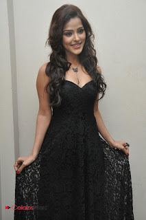 Priyanka Cha Pictures in Sleeveless Black Long Dress 0031.jpg