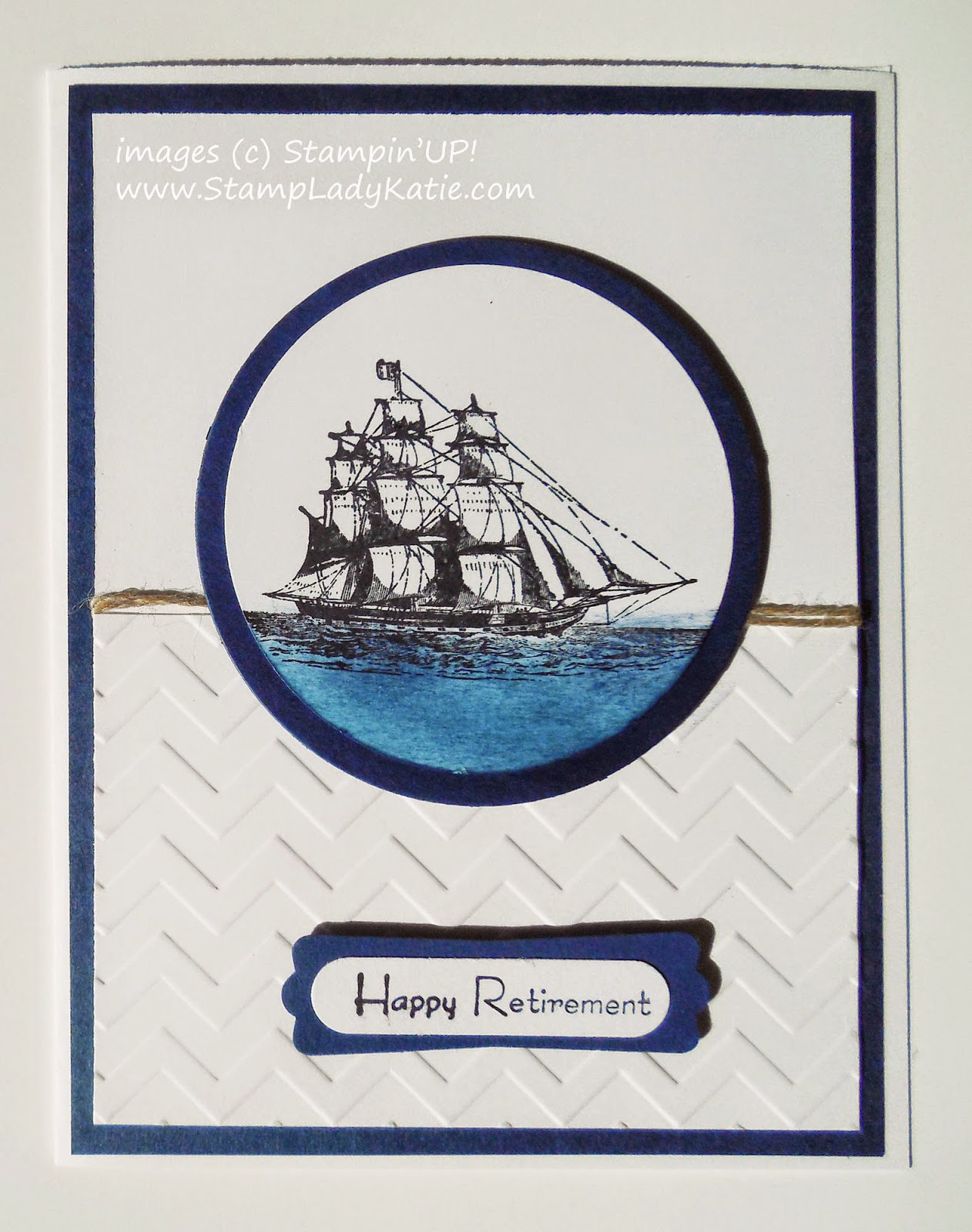 Card made with Stampin'UP!'s Open Sea Stamp Set