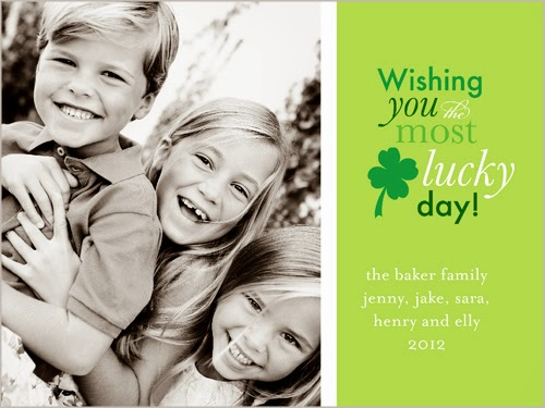 shutterfly st pattys day card