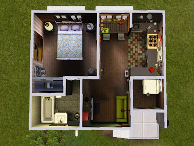 sims 3 apartment spicy mexican