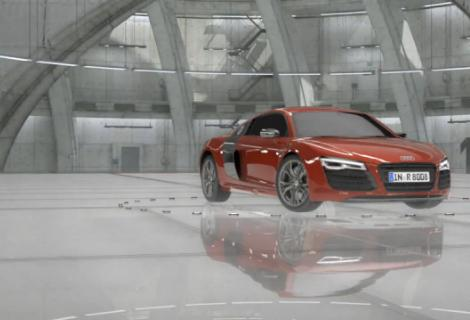 New Audi R TV Commercial Colors AdStasher - Audi r8 commercial