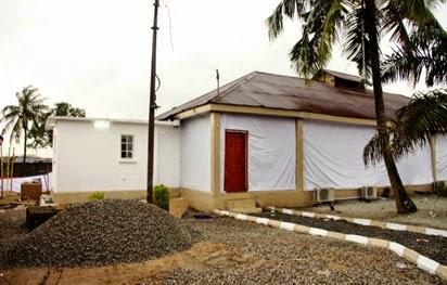 ebola virus isolation centers