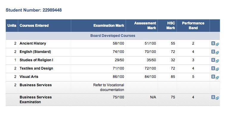 hsc assessment 2029