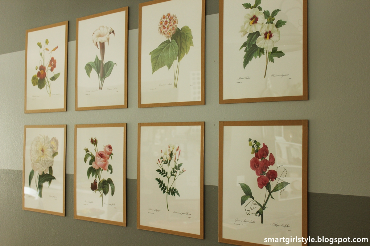 smartgirlstyle how to make a custom art frame for under 5 - Diy Picture Framing