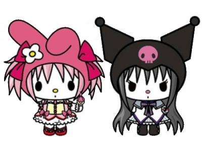 Hello Kitty x Puella Magi Madoka Magica
