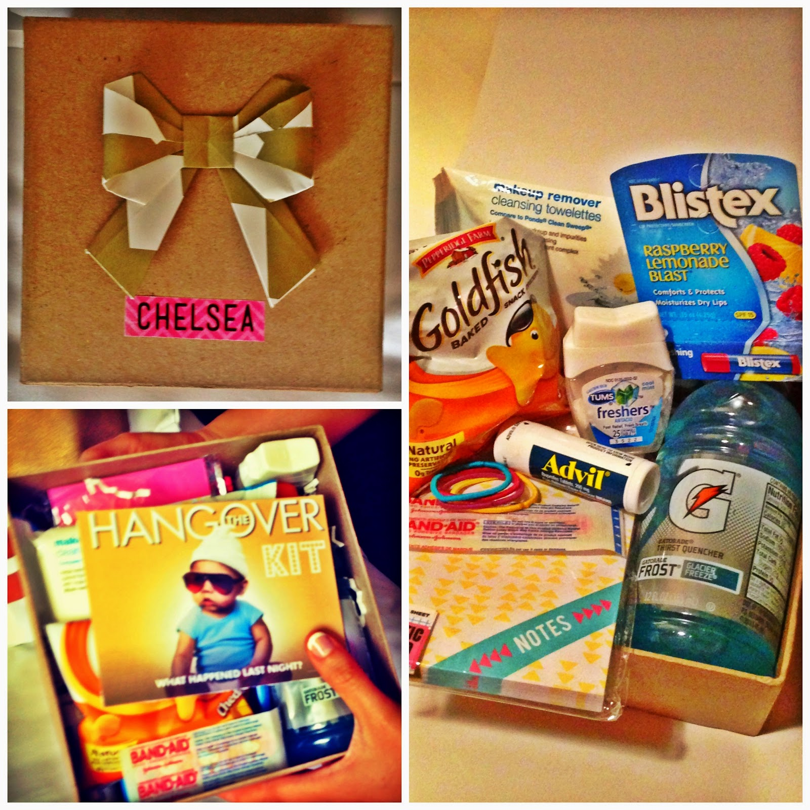 Coloring orange bachelorette party favor hangover kits the final result hangover kits solutioingenieria Choice Image