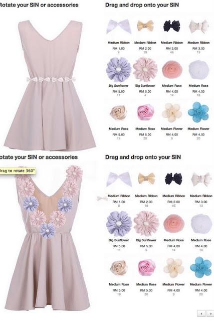Customize flora dress