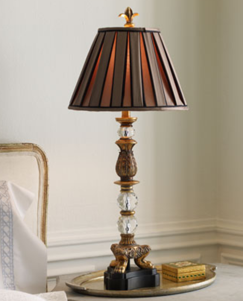 Table lamps designs an interior design - Chandelier desk lamp ...