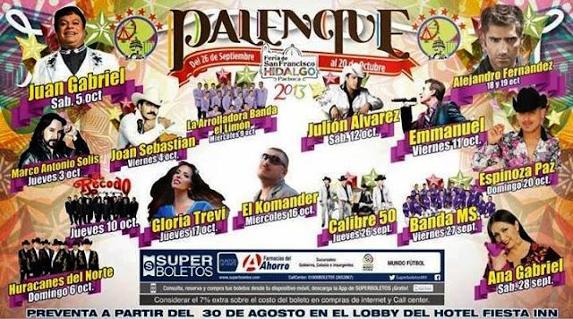 Palenque Feria Pachuca 2013