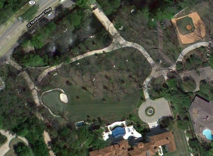 celebrity houses, google earth - YouTube