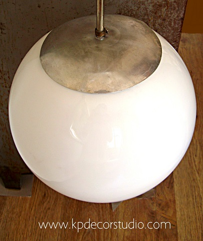 Lámparas colgantes vintage de bola