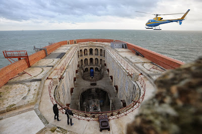 Showbiz, Game-show, Sports, Sea, Water, Construction, Air-view, TV, Fort, Boyard, France, La Rochelle, Film, Entertainment, Building, Theater, Show