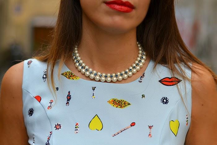 collana perle luca barra