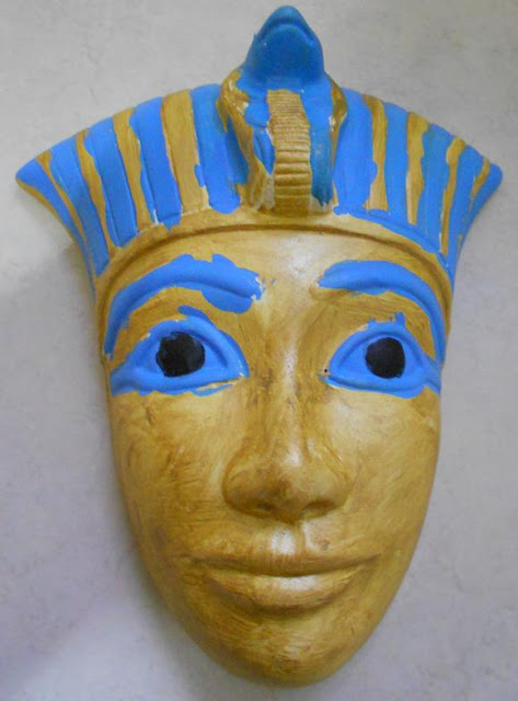 All that 39 s goood pharaoh masks for King tut mask template