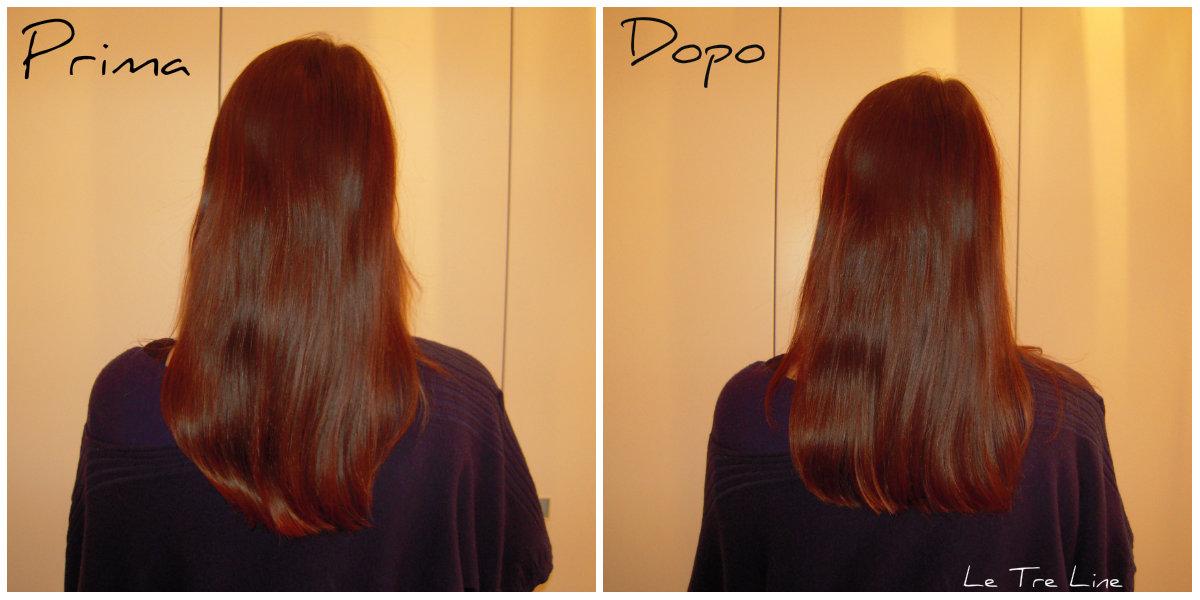 Taglio capelli lunghi da sola