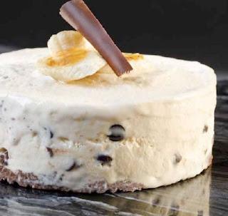 Torta de Platano y Helado