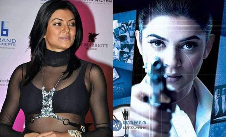 Foto hot seksi Sushmita sen Artis cantik india bollywood berperan polisi