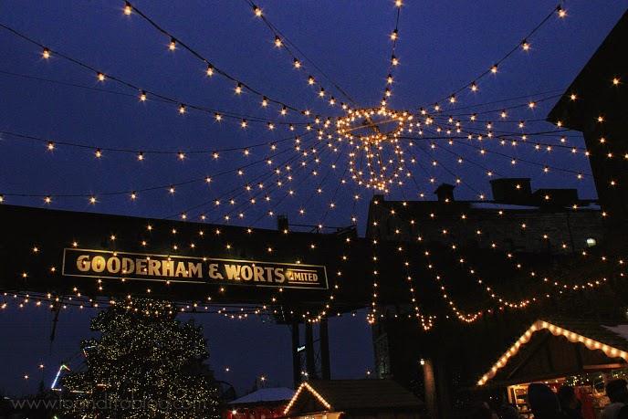 Toronto Christmas Market lights